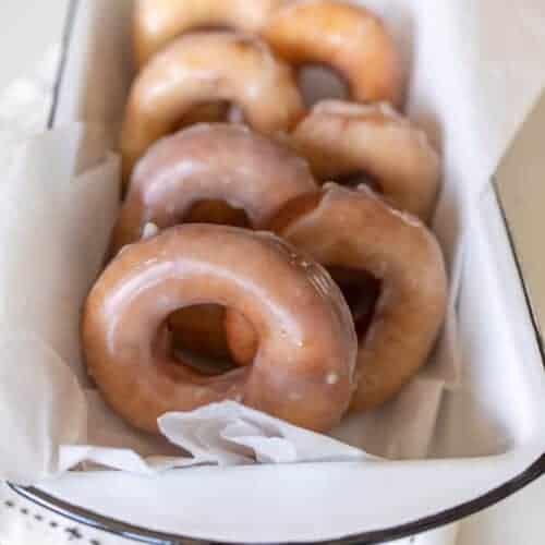 Light and Fluffy Glazed Sourdough Donut Recipe