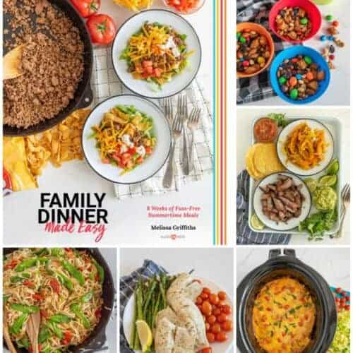 My New COOKBOOK is here! Family Dinner Made Easy: 8 Weeks of Fuss-Free Summer Meals