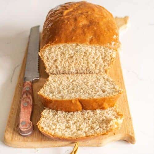 How to Make Homemade Bread (with no eggs, milk, or butter)