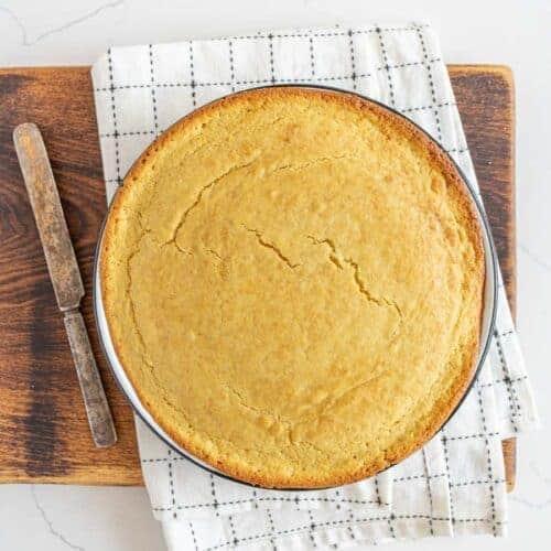 Fluffy Sourdough Cornbread