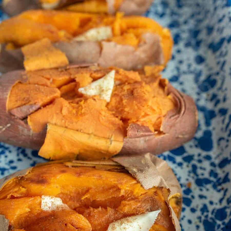 Oven Baked Sweet Potato