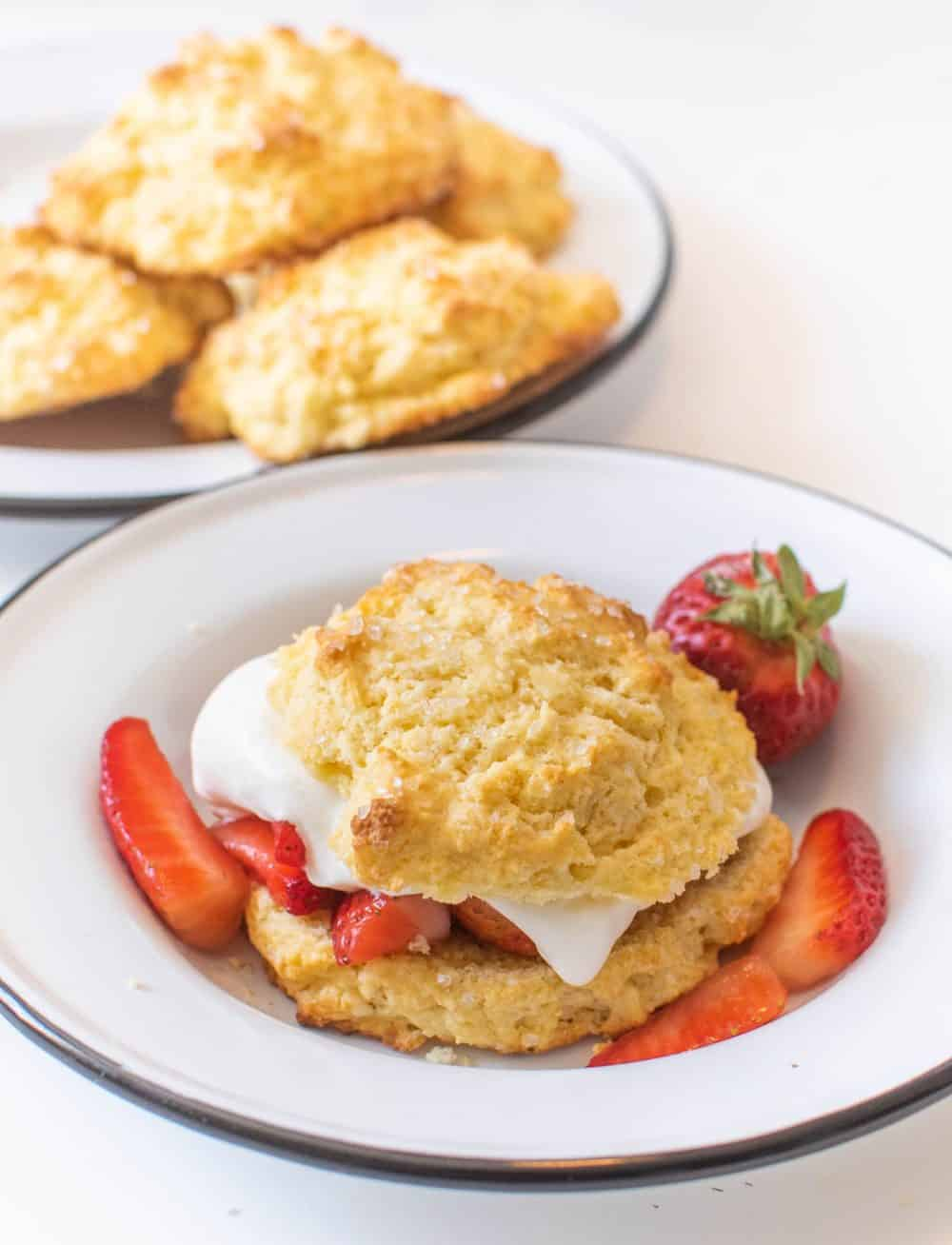 Biscuits for Strawberry Shortcake