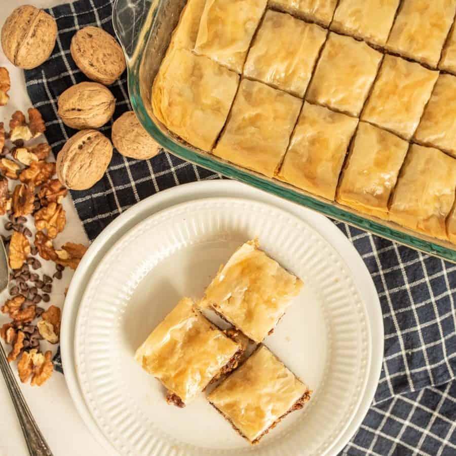 Beth's Chocolate and Pecan Baklava Recipe