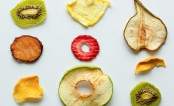 slices of dried fruit