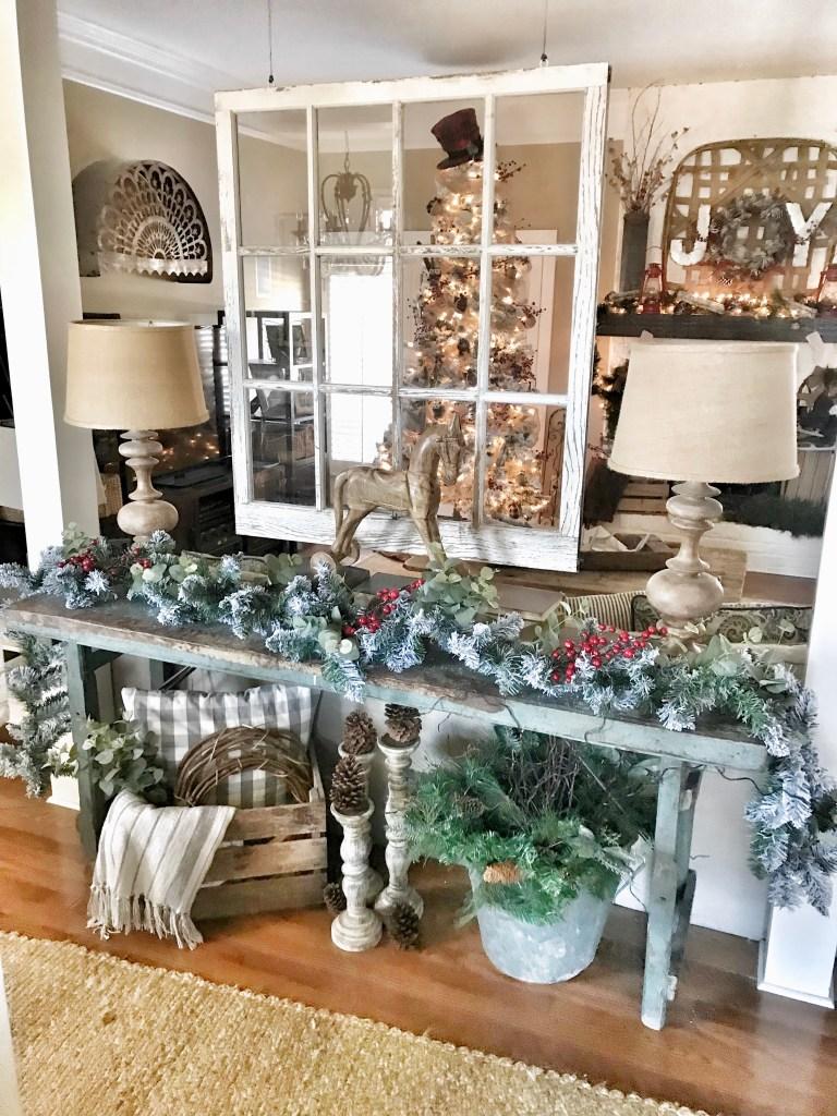 christmas tour living room - Christmas Blogs