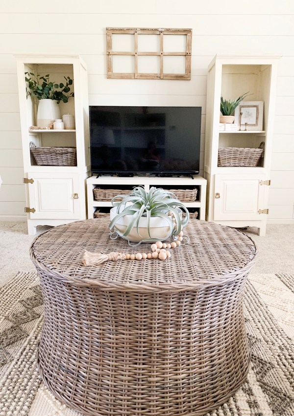 Entertainment Center Makeover Reveal