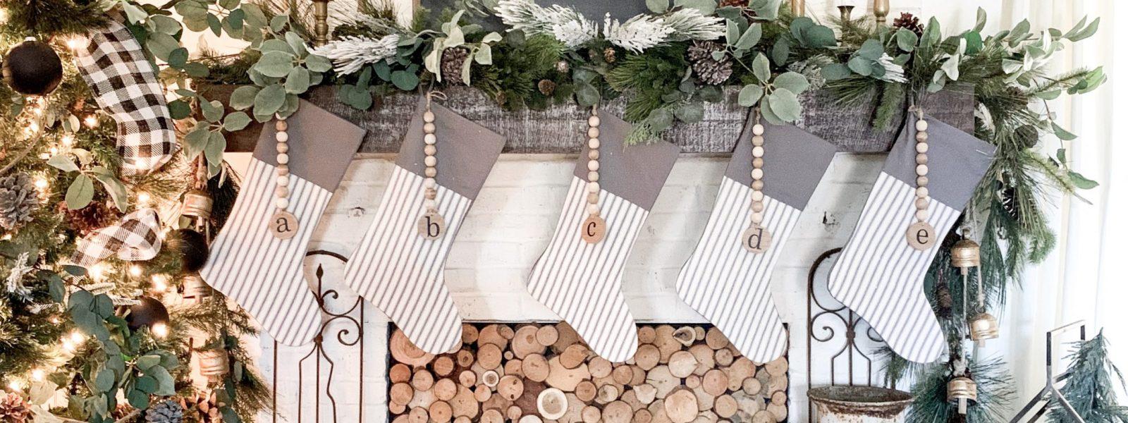 Cozy Christmas Living Room and Neutral Decor
