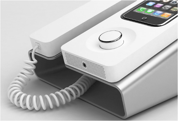 DESK PHONE DOCK  FOR IPHONE