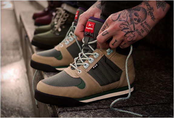 PATTA X KANGAROOS HIKING BOOT COLLECTION