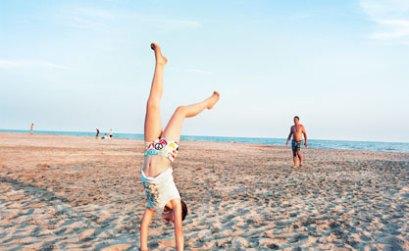 la plage Piémanson en Camargue