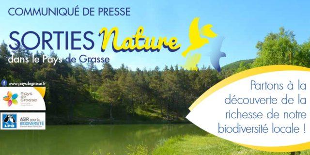 Sorties nature avec le Pays de Grasse