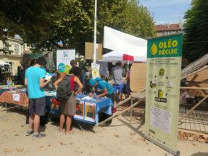 Village des alternatives, pour recycler les huiles