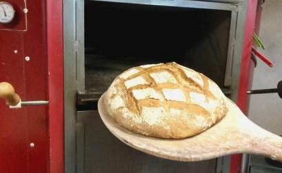 le pain cuit