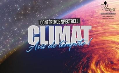 conférence Climat avis de tempête