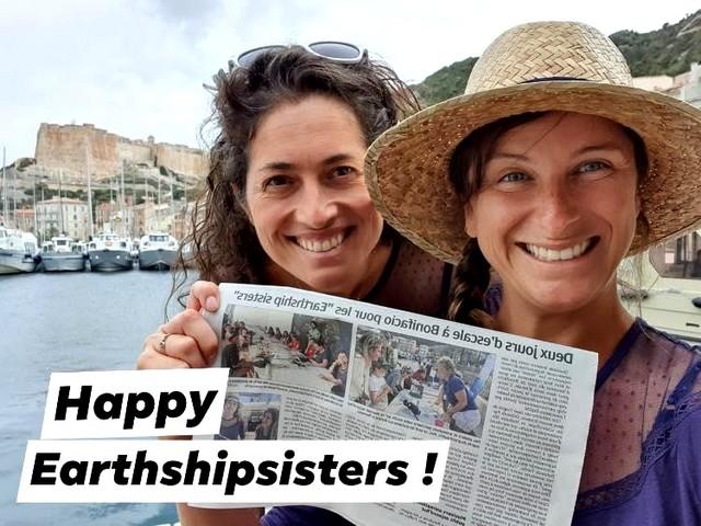 les fondatrices de Earthship