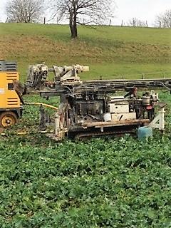 Forage agricole réalisé dans le 70