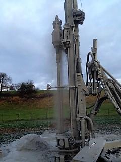 Machine de forage grande profondeur