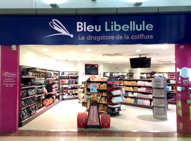 bleu libellule pau magasins
