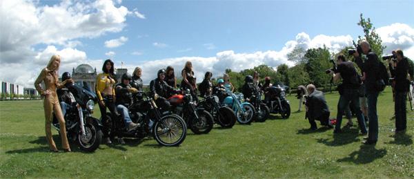 Girls & Bokes, Berlin Harley Days 2009