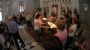 Sondergottesdienst für Wunschkerzenaktion, St. Paulus Kirche, Tarsus