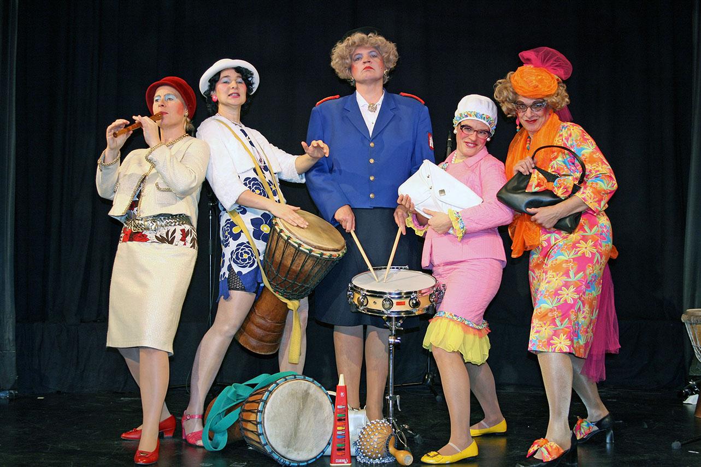 Die Trudenriege kommt mit ihrer Musikcomedy zum zweiten Mal ins Sauerlandtheater. (Foto: Veranstalter)