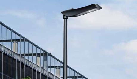 Trilux-Straßenleuchte Viatana schafft Weltpremiere