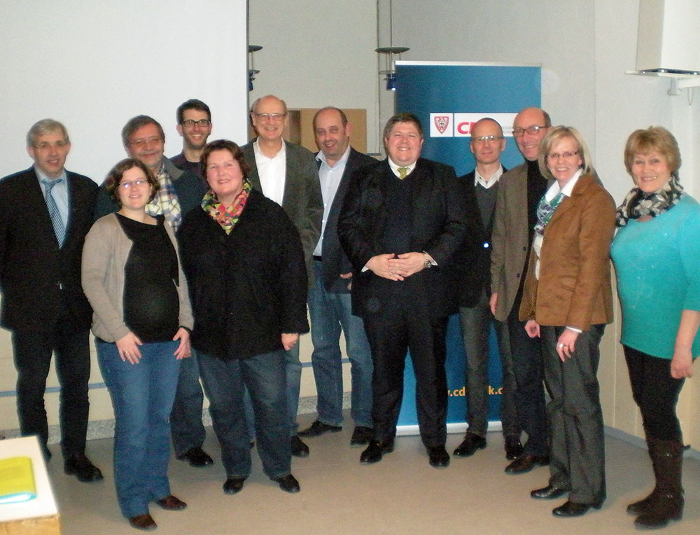 CDU Ortsverband Neheim nominiert Kandidaten