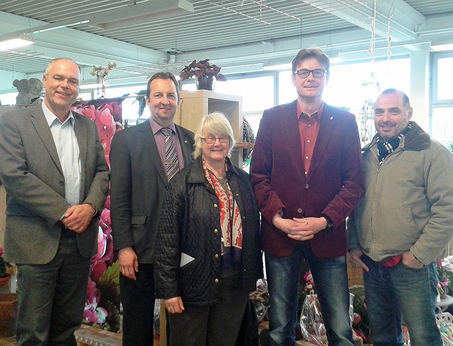 SPD besucht caritas integra