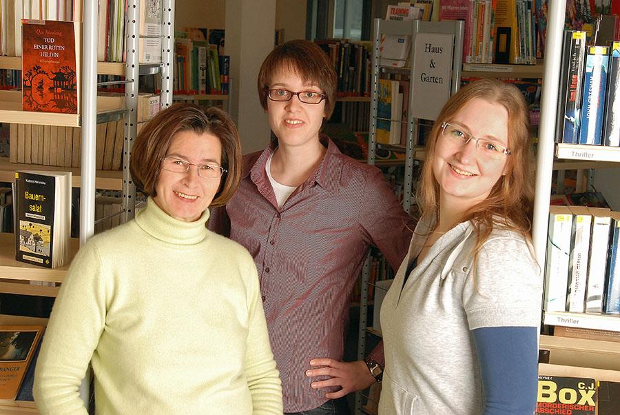 Das Team der Sunderner Stadtbibliothek hat den Bücherflohmarkt organisiert. (Foto: Stadtbibliothek)