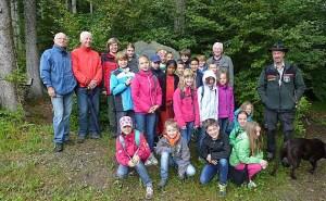 Schulwandern mit Oeventroper Grundschülern. (Foto: SGV)
