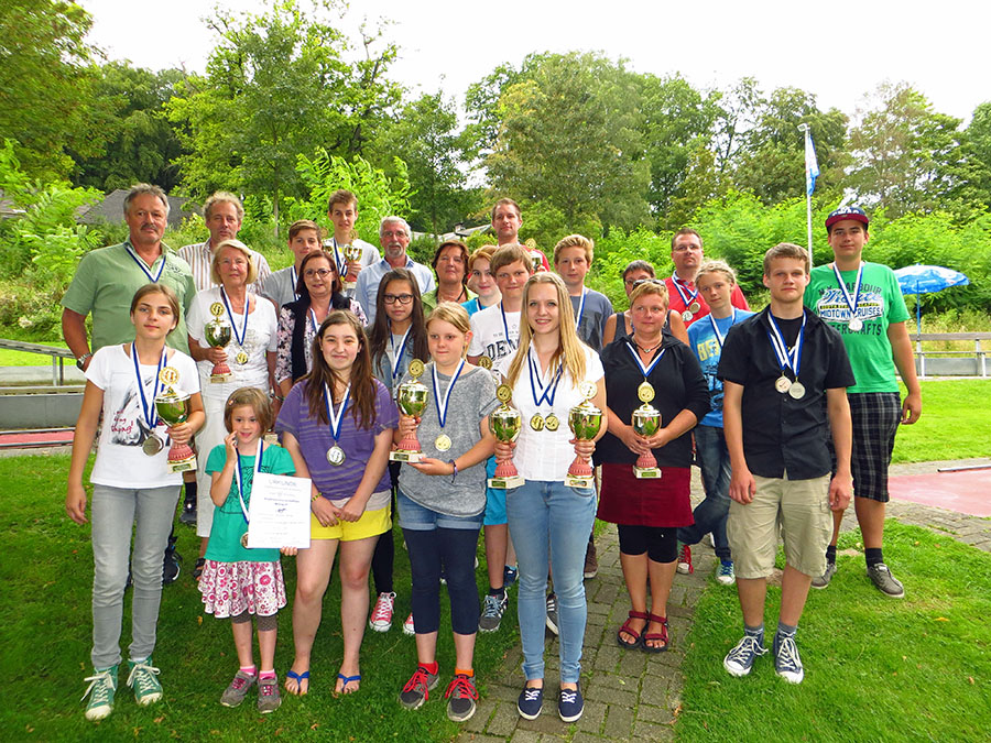 Spannende Stadtmeisterschaften im Minigolf