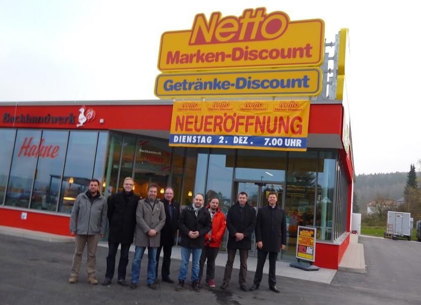 Netto-Markt im Stadtbruch ist offen