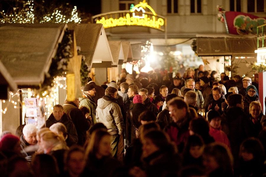 Weihnachtsmarkt meldet Besucherrekord