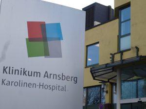 Die Klinik für Kinder- und Jugendmedizin gibt es seit November 1994 am Karolinenhospital Hüsten, heute ein Teilstandort des Klinikums Arnsberg. (Foto: oe)