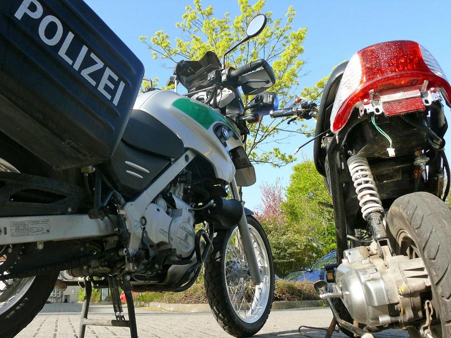 Motorradfahrer mit knapp 200 geblitzt
