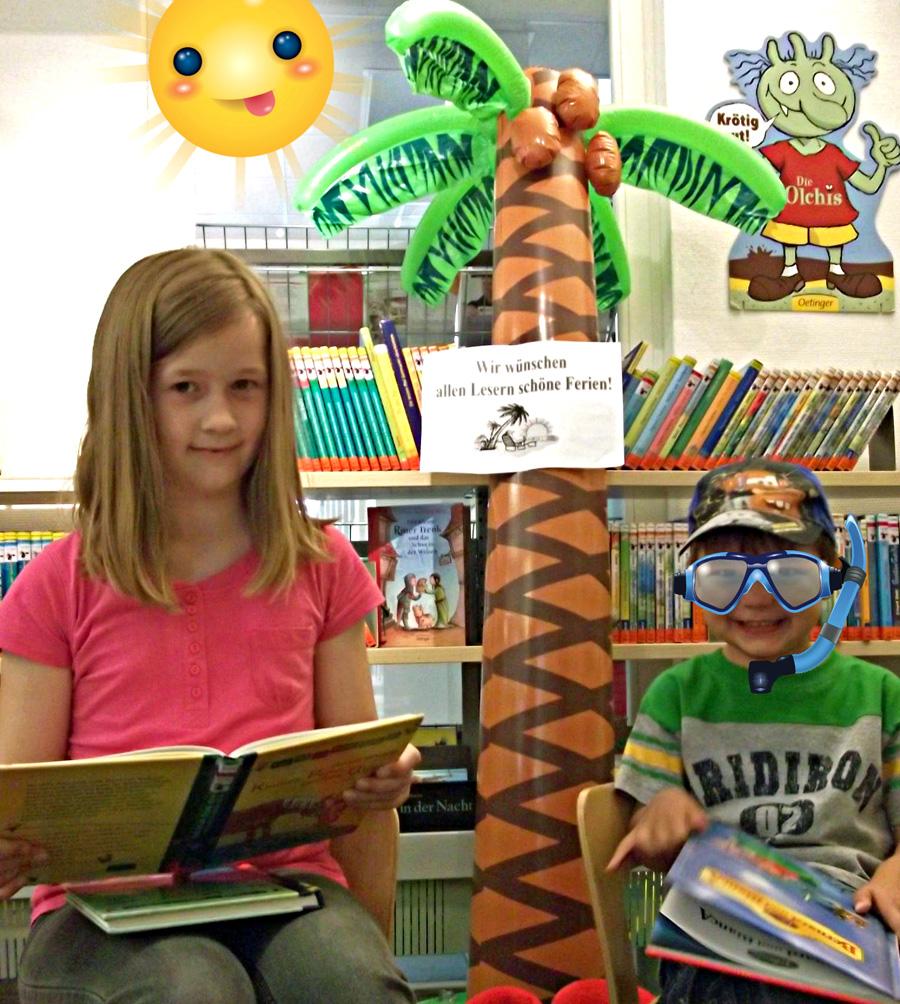 Große Ferien-Schmökeraktion für Grundschulkinder