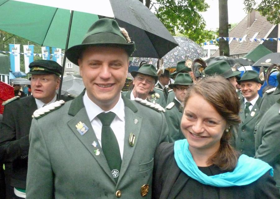 Sebastian Ricke und Saskia Bours neues Königspaar in Neheim