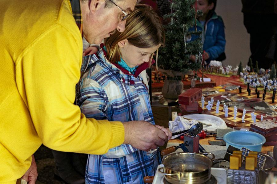 Weihnachtsgalerie Handwerk öffnet die Pforten