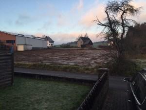 Blick auf das Grundstück vor bei Baubeginn. (Foto: IG)