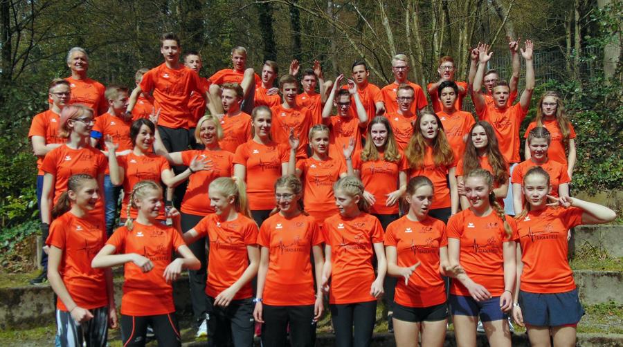 LAC-Leichtathleten bereiteten sich in Freiburg auf Sommersaison vor