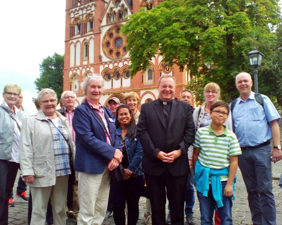 Müscheder trafen neuen Limburger Bischof