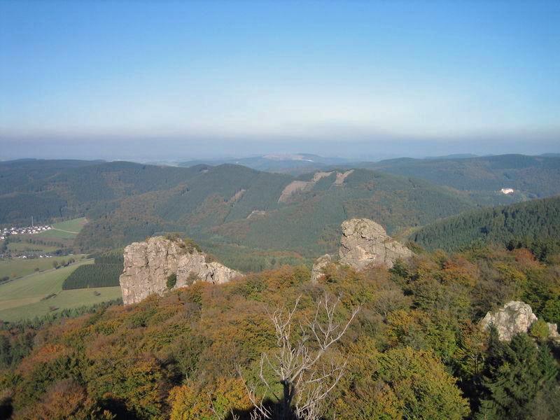 Bruchhauser Steine werden Nationales Naturmonument