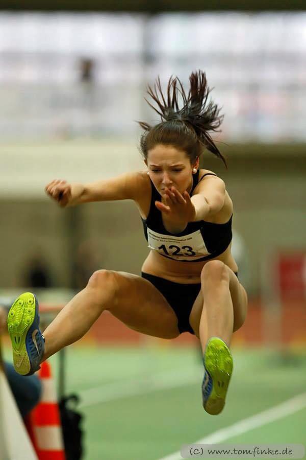 LAC-Athletin Marie Berghoff sammelt zwei weitere Titel