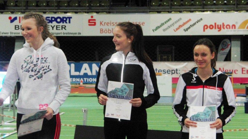 Marie Berghoff erkämpft 5. Platz im Dreisprung bei Deutschen Meisterschaften