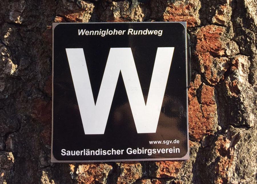 Eröffnungswanderung auf der Wennigloher Rundstrecke