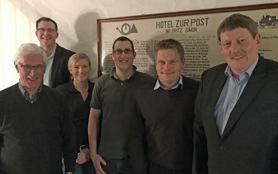 CDU Bruchhausen zieht Bilanz und bestätigt Vorstand
