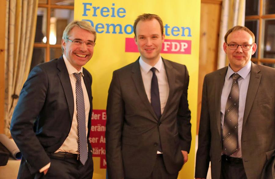 Kreis-FDP freut sich über 38 Neueintritte