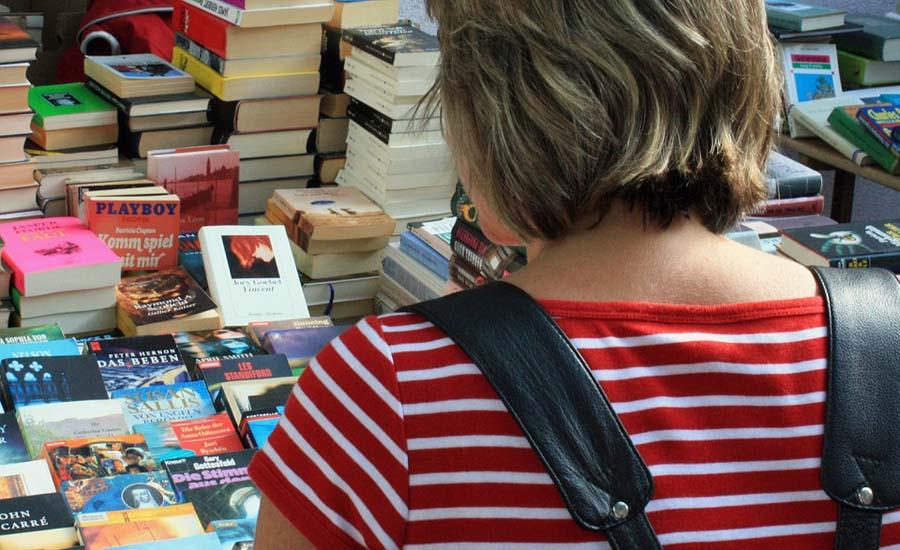 Von Goethe bis Nora Roberts – an einem Tag 1500 Bücher verkauft