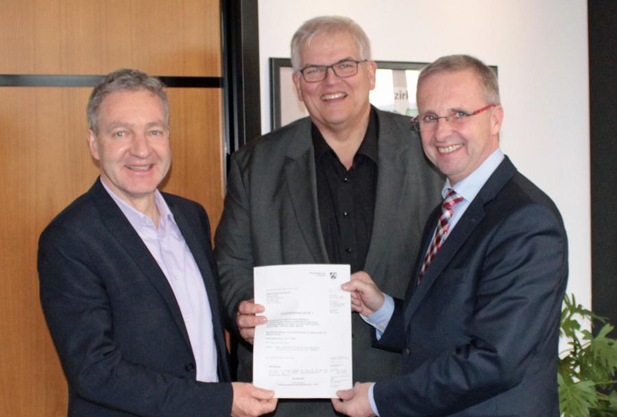 Landesförderung für Ausbau des RuhrtalRadweges in Niedereimer