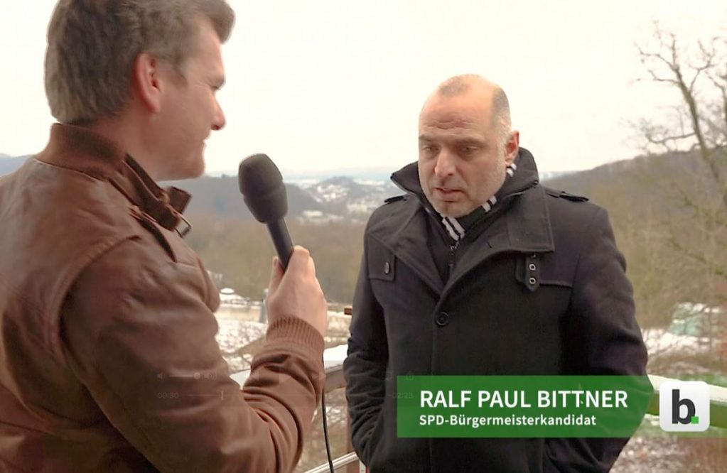 Arns­berg wählt: Video-Inter­view mit Bür­ger­meis­ter­kan­di­dat Ralf Paul Bitt­ner (SPD)